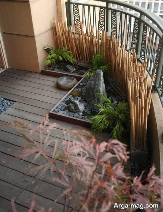 ایده خاص تزیین خانه با چوب بامبو