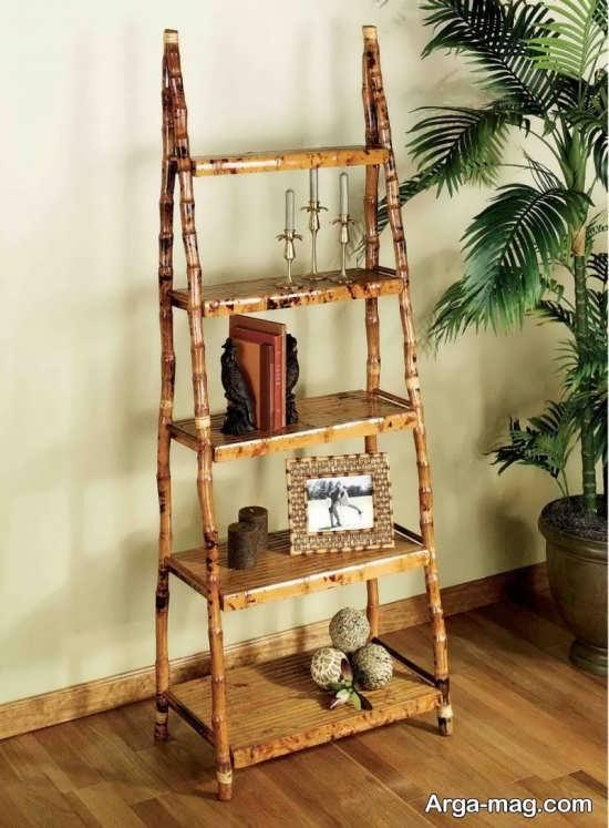 ایده جذاب دکوراسیون خانه با چوب بامبو