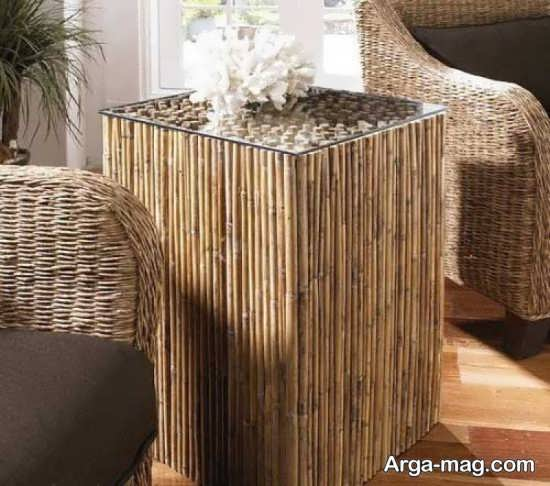 چوب بامبو برای تزیین خانه