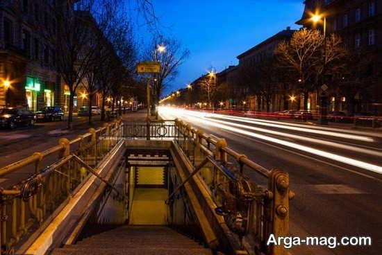 خیابان های زیبای شهر بوداپست