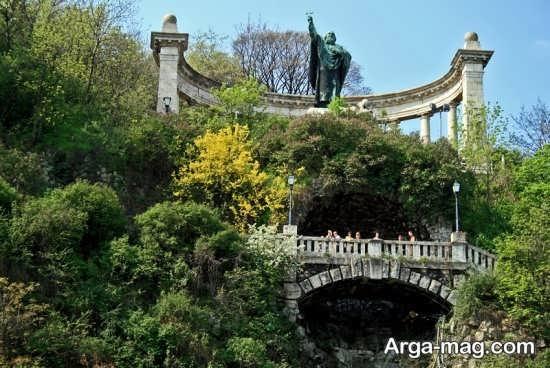 مراکز طبیعی و تفریحی بوداپست