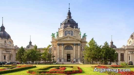 کاخ زیبا در بوداپست