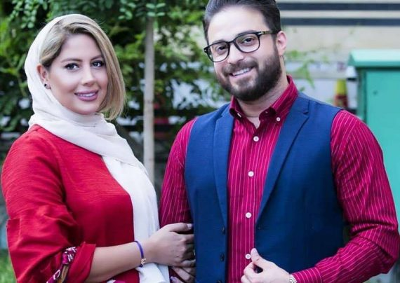 گوشواره جذاب همسر بابک جهانبخش