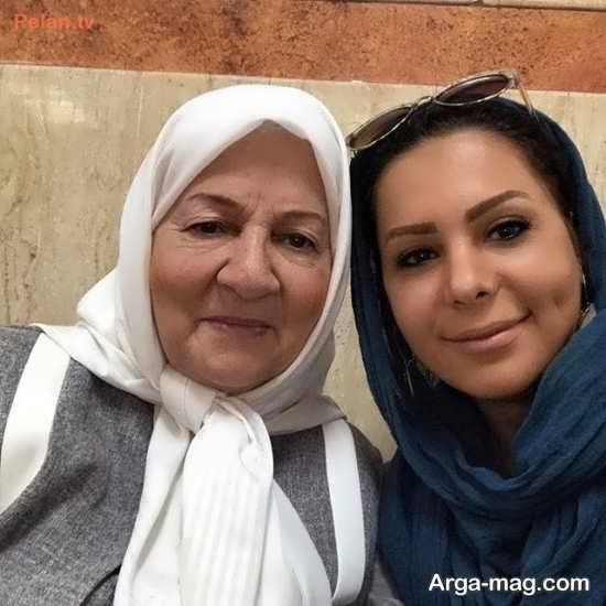 عکس های بهار ارجمند در کنار بازیگر زن