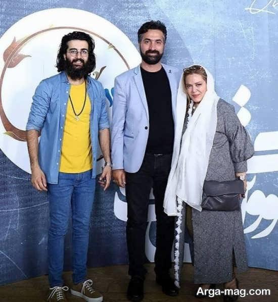 عکس بهاره رهنما و همسرش در کنار مهدی دارابی