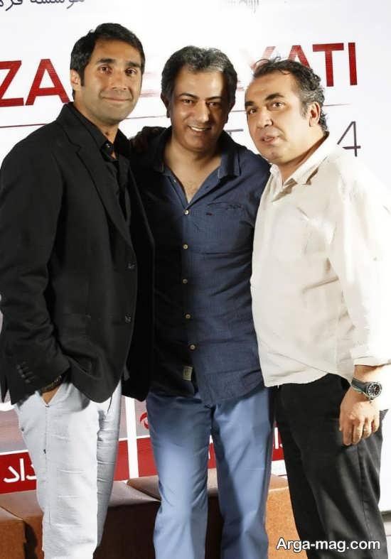 عکس محمدرضا هدایتی در کنار بازیگران طنز سریال های مدیری