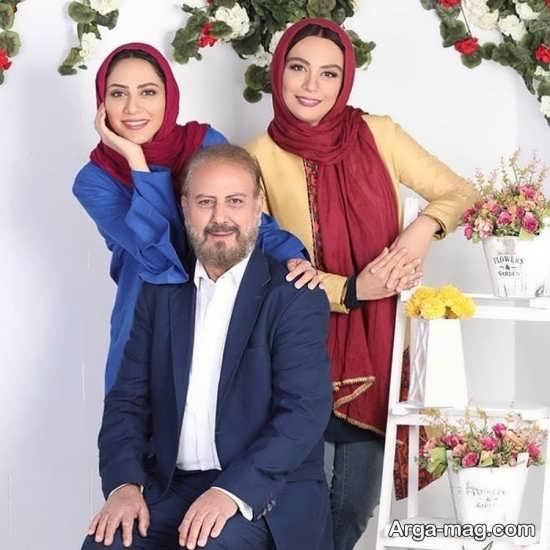 بیوگرافی و عکس های خانوادگی مونا فرجاد
