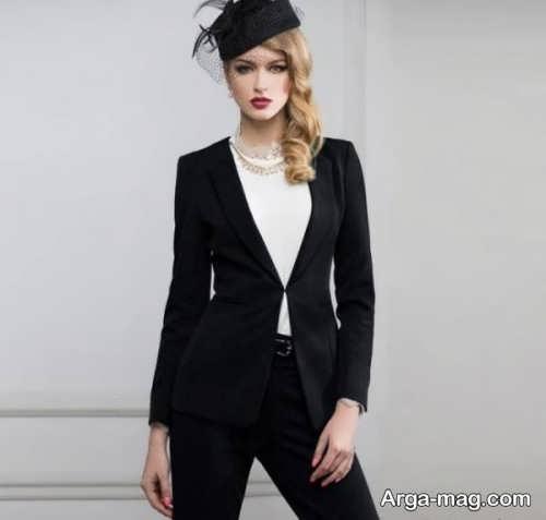 مدل لباس مجلسی دخترانه مشکی