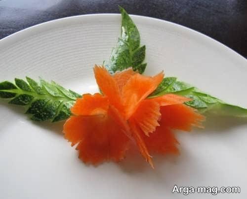 تزیین شیک و خاص هویج
