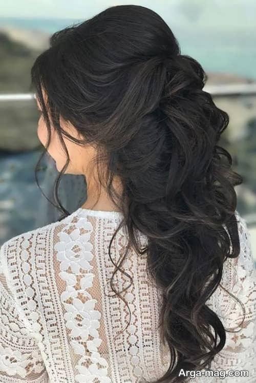 مدل آرایش موی فر