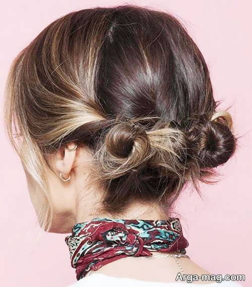 [تصویر:  Chignon-hair-short-girls-1.jpg]