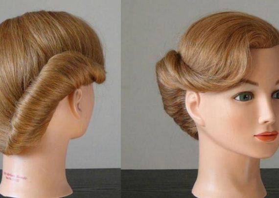 شینیون موی دخترانه کوتاه