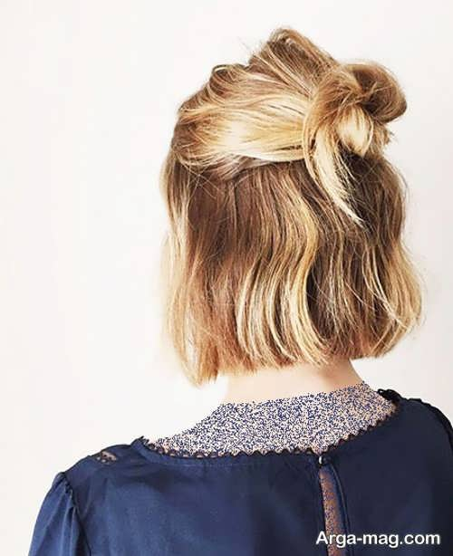 [تصویر:  Chignon-hair-short-girls-3.jpg]