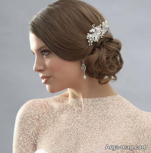 مدل موی شیک برای عروس