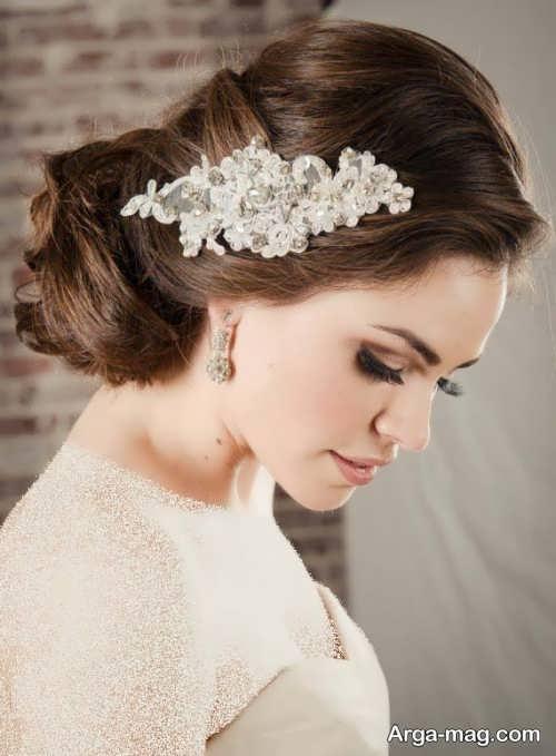 مدل موی زیبا و خاص برای عروس
