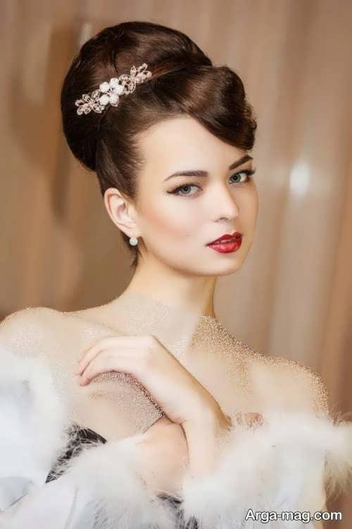 مدل مو زیبا و جدید عروس