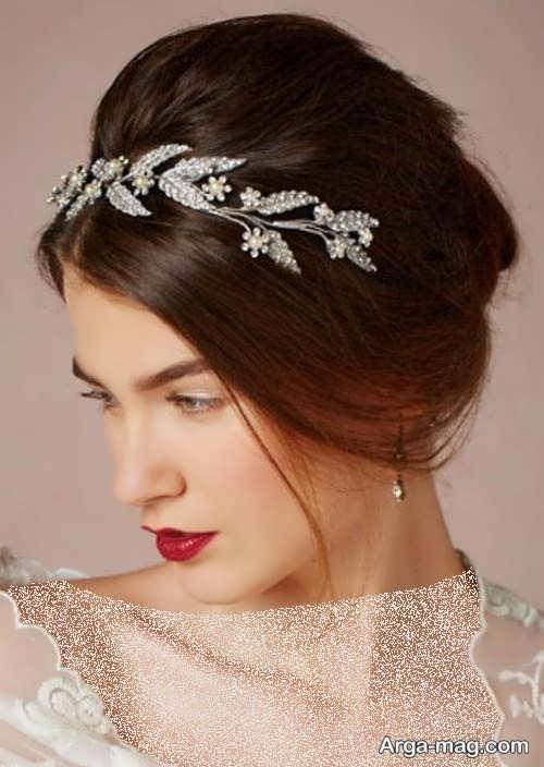مدل مو بسته برای عروس