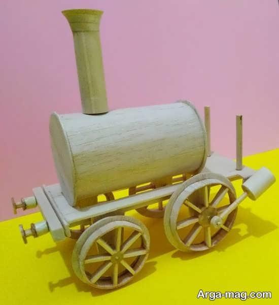 کاردستی دیدنی قطار