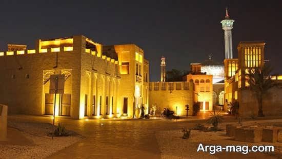مسجد تاریخی در دبی