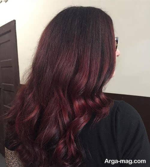 رنگ موی تیره