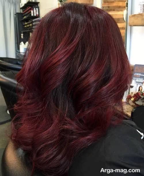 رنگ موی زیبا و شیک زنانه