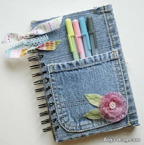 تزیین جاد دفتر خاطرات با ایده ای جالب
