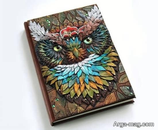 ابتکار و خلاقیت در تزیین جلد دفتر خاطرات