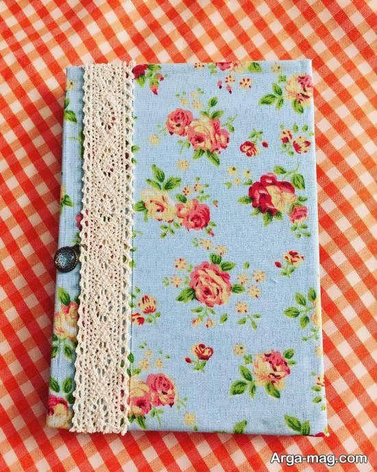 تزیین دفترچه خاطرات با وسایل ساده