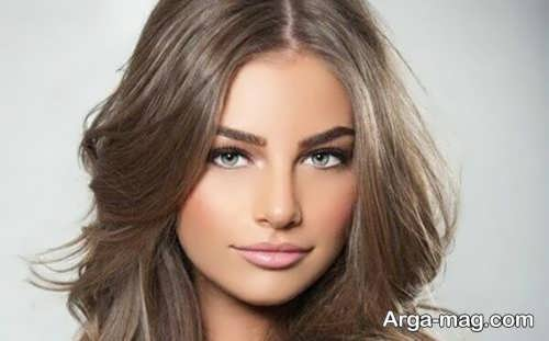 رنگ مو زنانه نسکافه ای