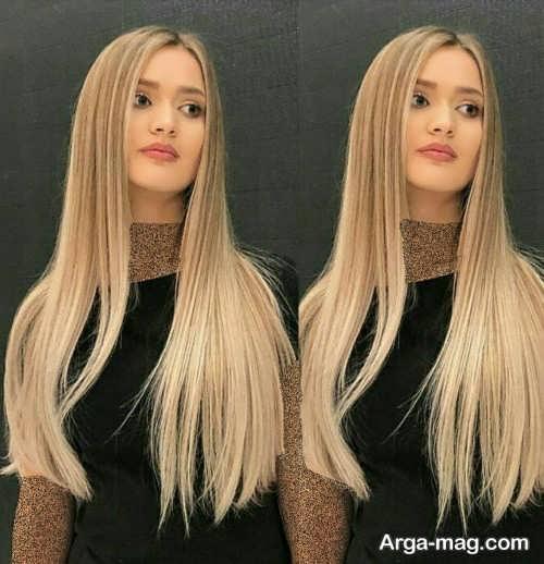 رنگ موی زنانه نسکافه ای