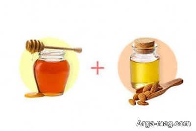 ماسک عسل و روغن بادام