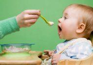 تغذیه کودک چهارده ماهه