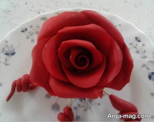گلسازی با خمیر