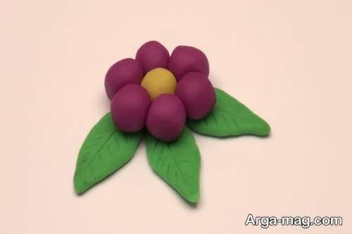 ساخت گل چینی ساده با خمیر