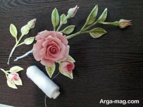 ساخت گل رز مینیاتوری