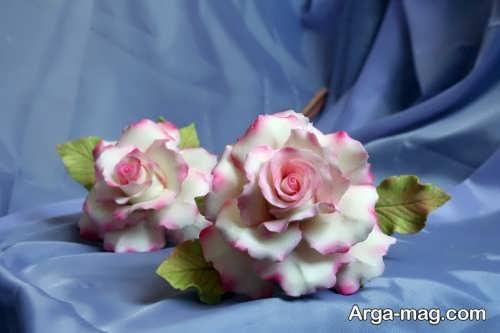 مدل گل با خمیر چینی