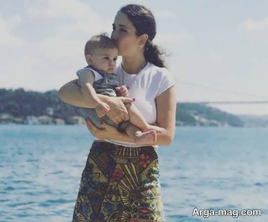 عکس های گوکچه آکیلدیز بازیگر سریال ترکیه ای