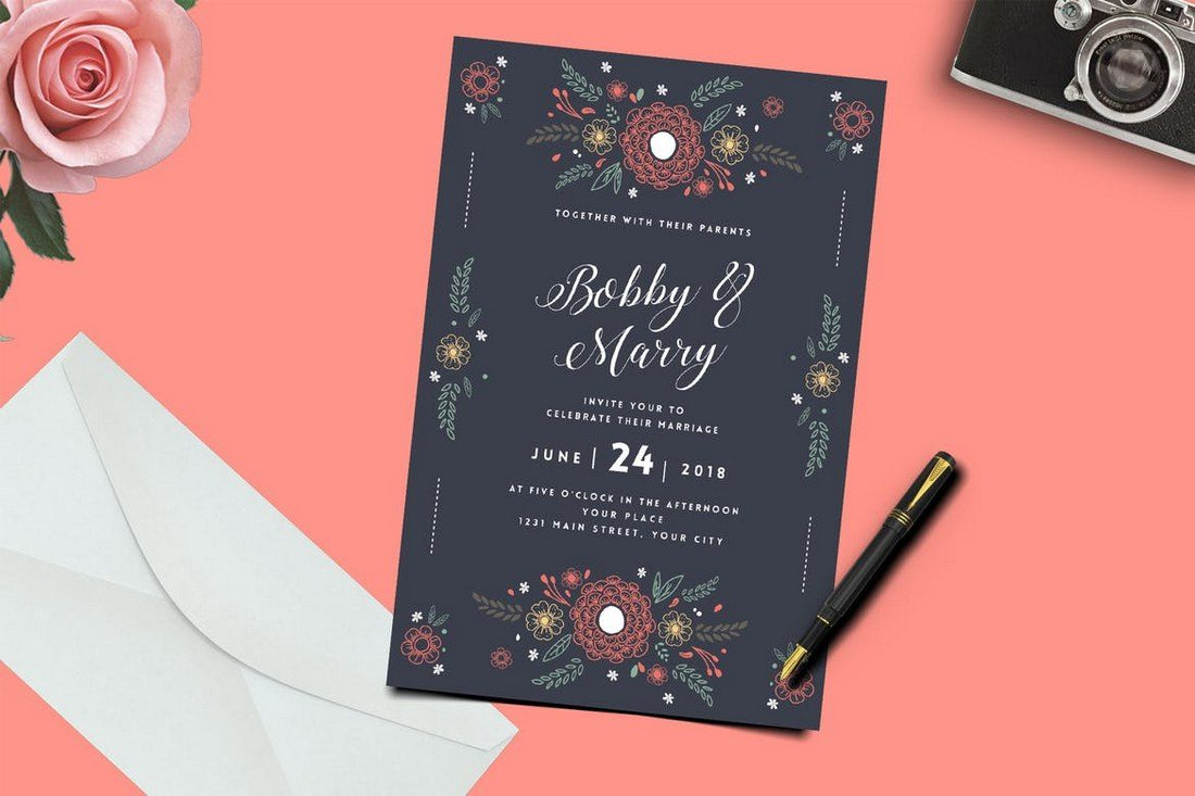 متن کارت عروسی باکلاس و زیبا برای دعوت از دوستان و آشنایان