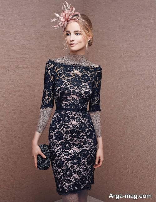لباس مجلسی زیبا و شیک گیپور