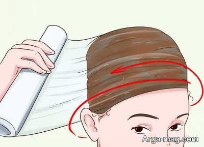 کشیدن نایلون روی موها