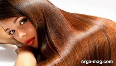 رنگ کردن موهای بلند و کوتاه با حنا