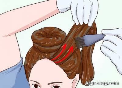 رنگ کردن موها به کمک حنا