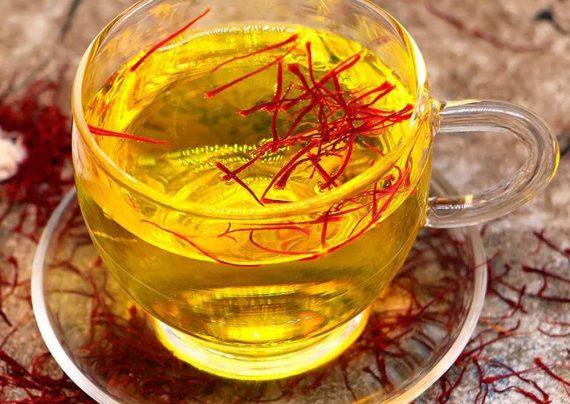 طرز تهیه چای زعفران