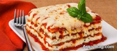 روش تهیه لازانیا پنیری