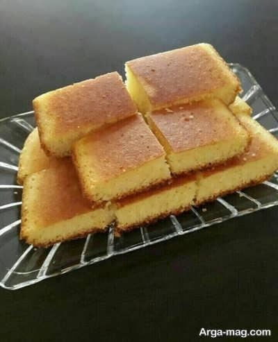 طرز تهیه کیک تابه ای