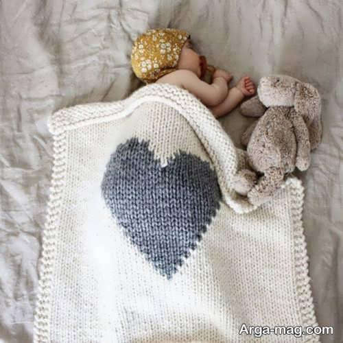مدل پتوی شیک و فانتزی نوزادی