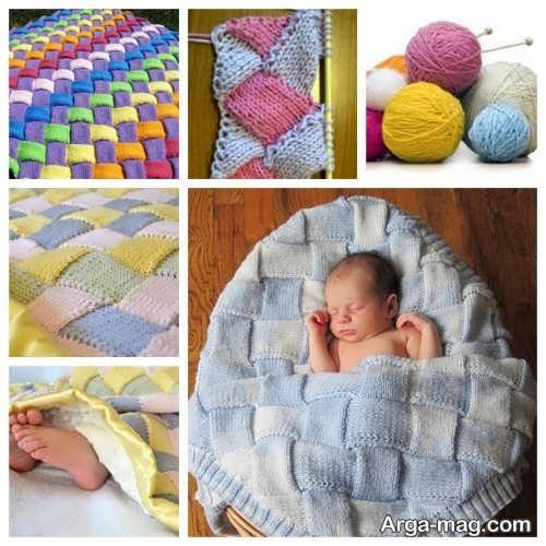 مدل پتوی شیک برای نوزاد
