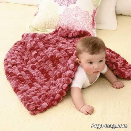 مدل پتوی زیبا برای نوزاد