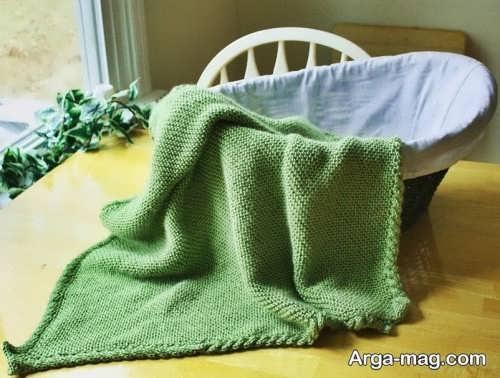 مدل پتو سبز برای نوزادی
