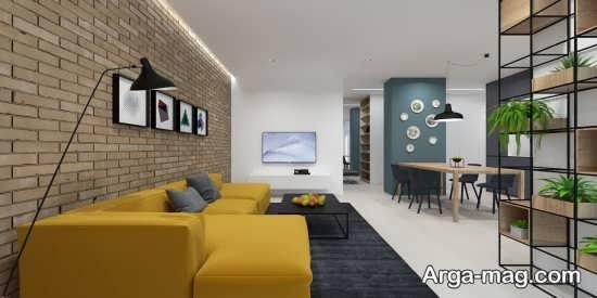 دیزاین و طراحی سالن پذیرایی ال